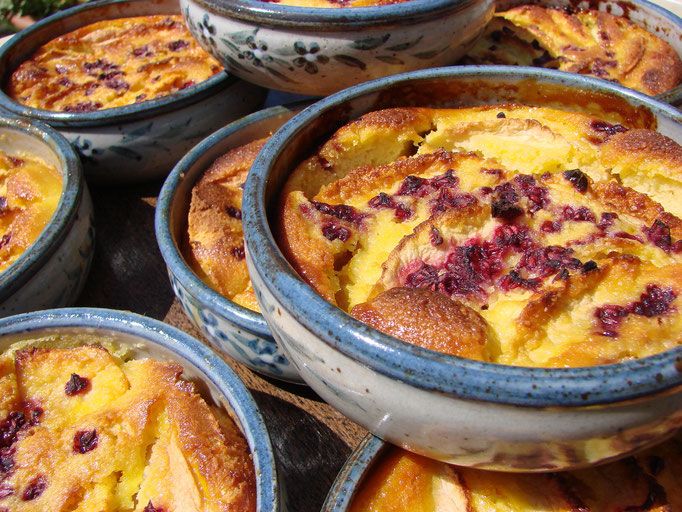 Clafoutis au fruits.