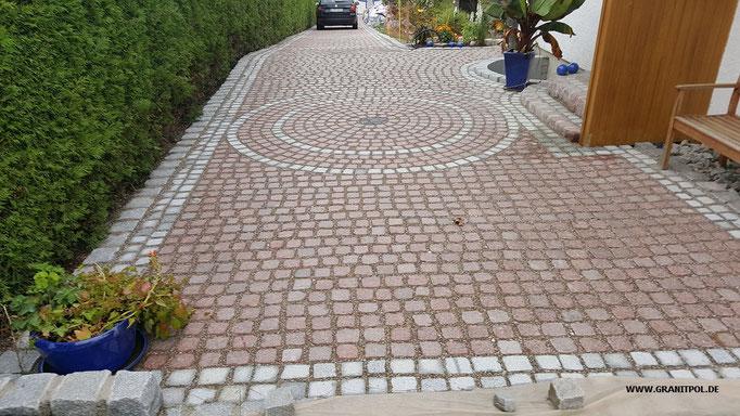 Pflastersteine eingangsbereich  Pflastersteine aus Granit und Sandstein - Granitpol.de