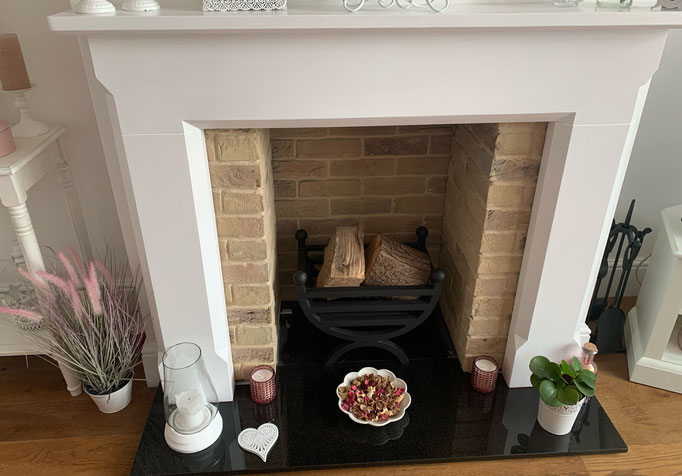 Knightsbridge Buff Multi Fireplace Chamber with Extended Returns
