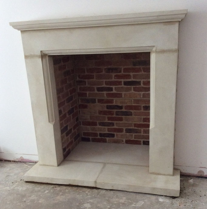 Large fireplace chamber in Olde Coach House