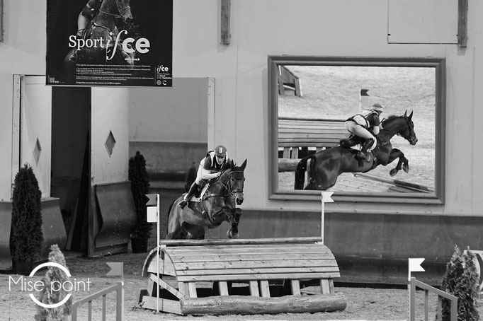Rodolphe Scherrer Cross Indoor Saumur 2020 © Copyright Mise O point