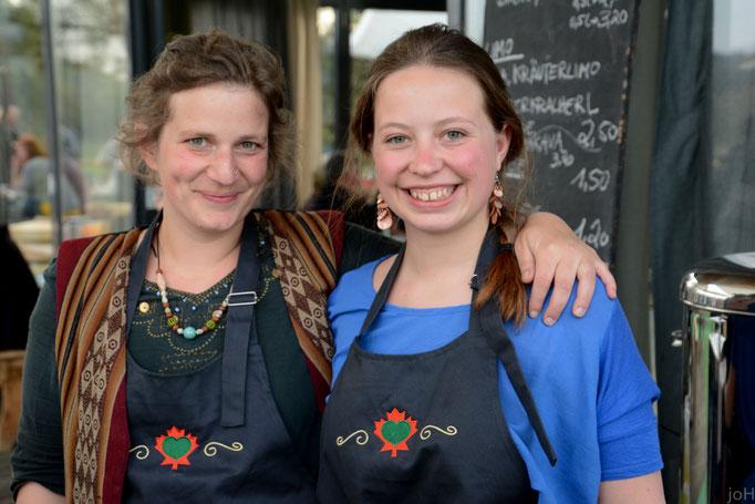 Team StrandGut: Doris (li.) und Marie Scheuer