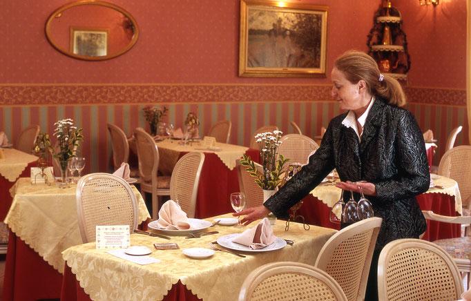 Salle du restaurant Auberge du Val d'Oise