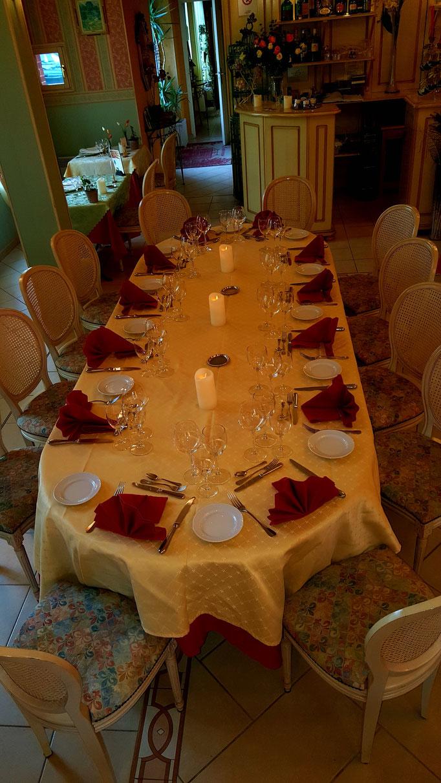 Table de réceptions