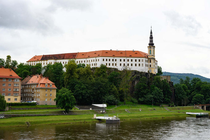 Decin, das erste Schloss in Tschechien