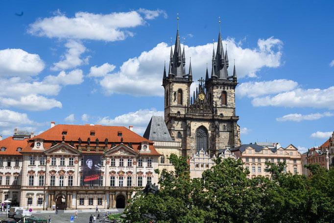 Teynkirche am Prager Marktplatz