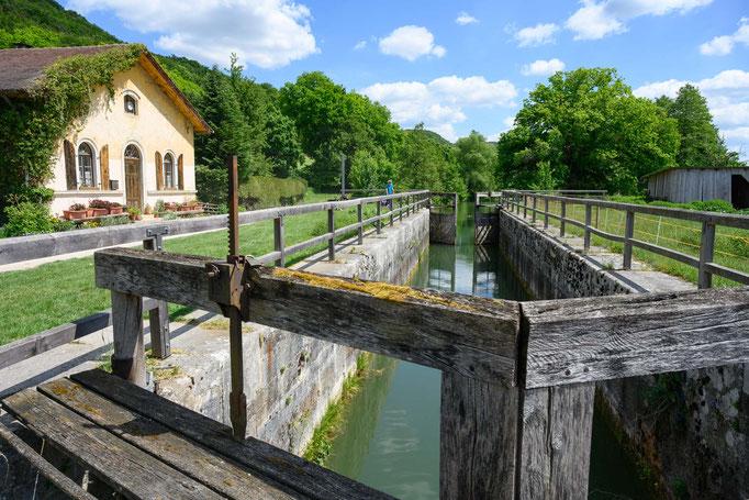 Alte Schleuse des Main Donau Kanals
