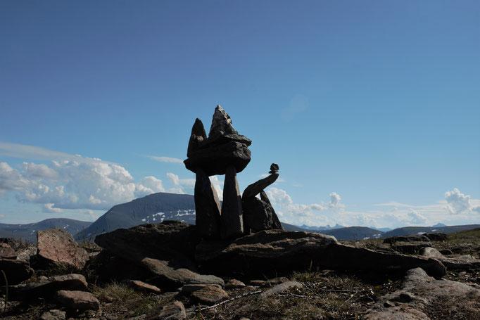 Eindrücke von der Wanderung um Tromsø / impressions from the hike arround Tromsø