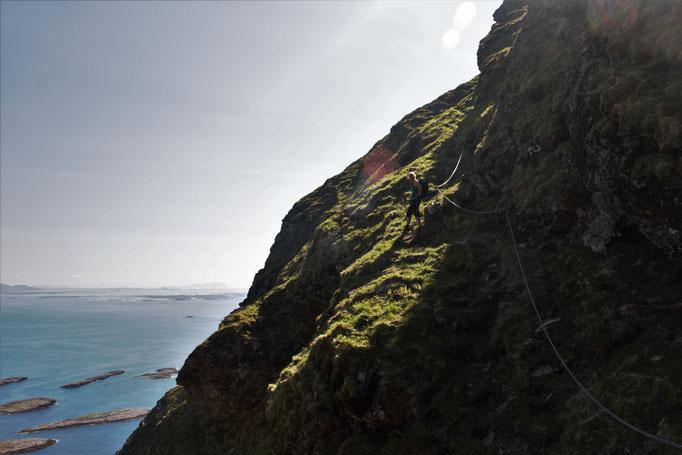 Aufstieg zum Skogen / climb to Skogen