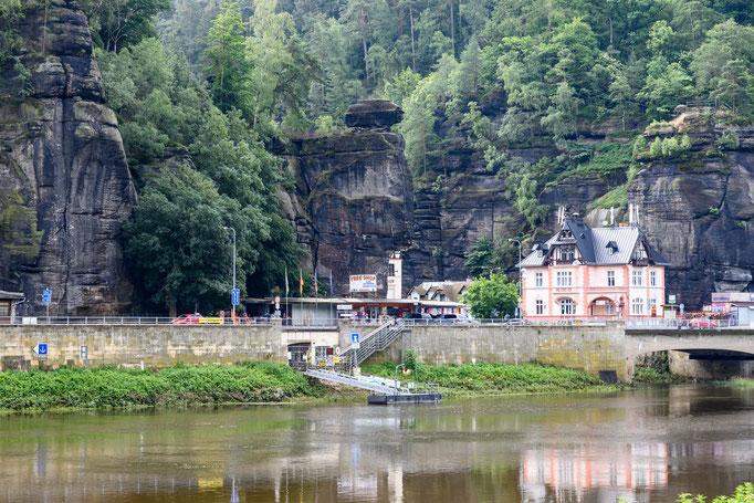 Faszinierende Sandsteinformationen am Grenzübergang Deutschland-Tschechien