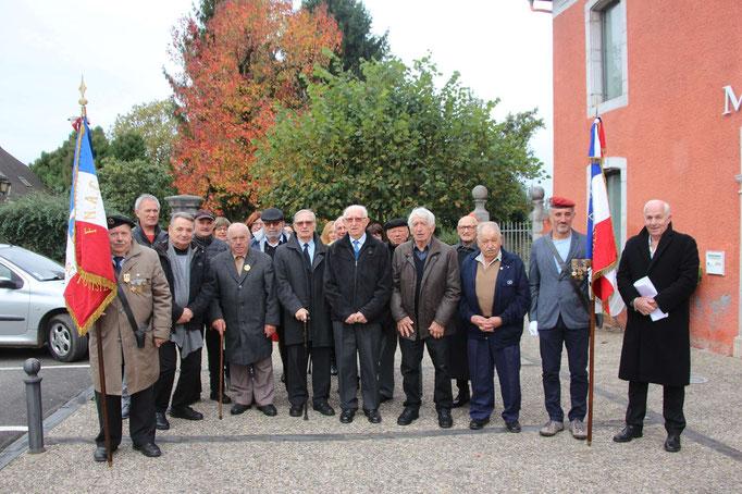 Les Anciens combattants après l'Assemblée générale annuelle