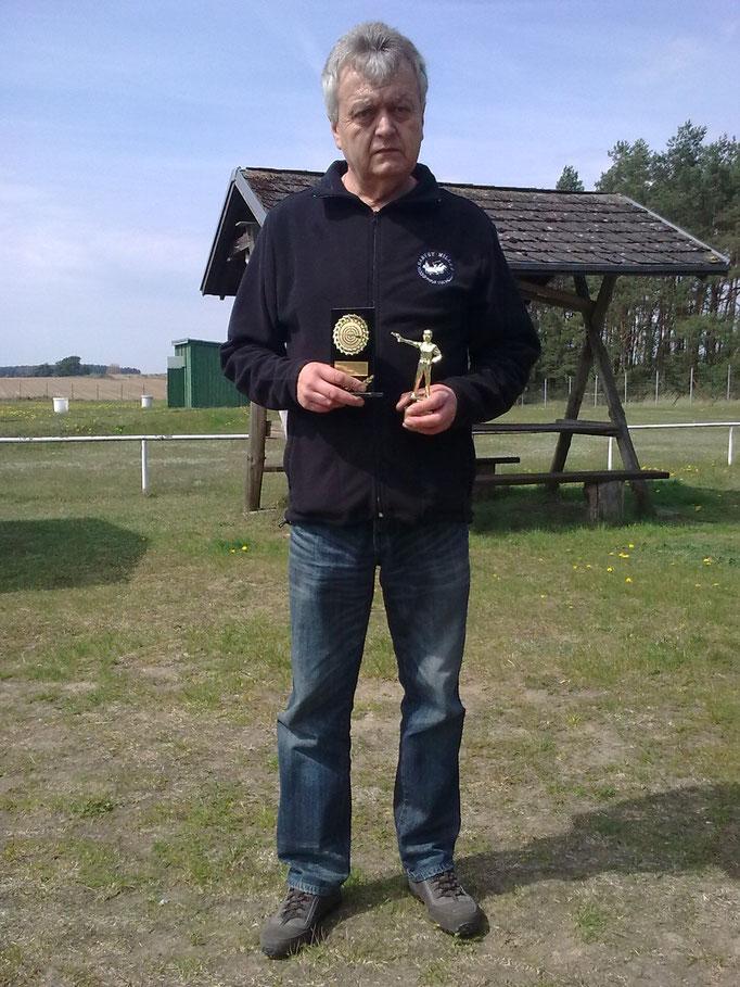 Rainer Klockow 3. Platz KK Langwaffe