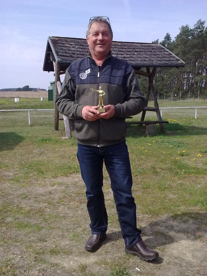 Udo Schön 3. Platz KK Kurzwaffe