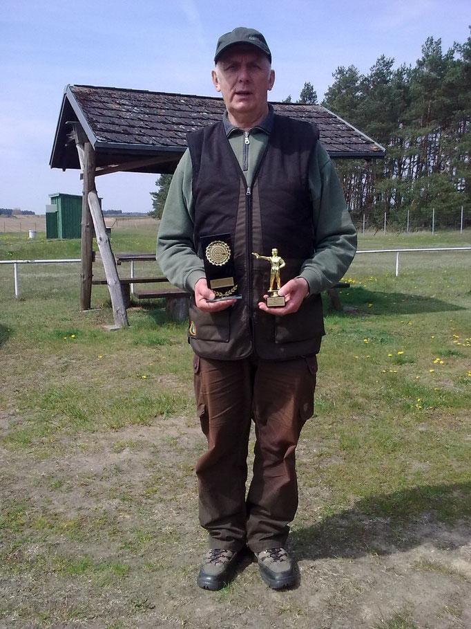 Gunther Greiff 2. Platz KK Kurzwaffe