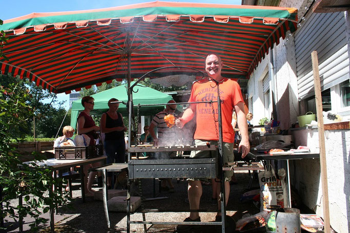 FRFC - Sommerfest 2016 - Grill