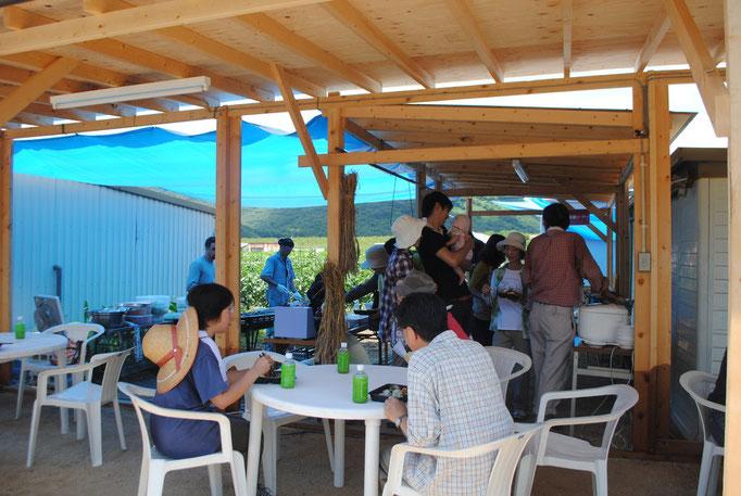 岡山県ミモレ農園で農業体験とBBQランチを開催しました。
