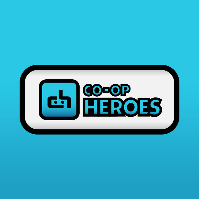 Co-op Heroes Logo Design