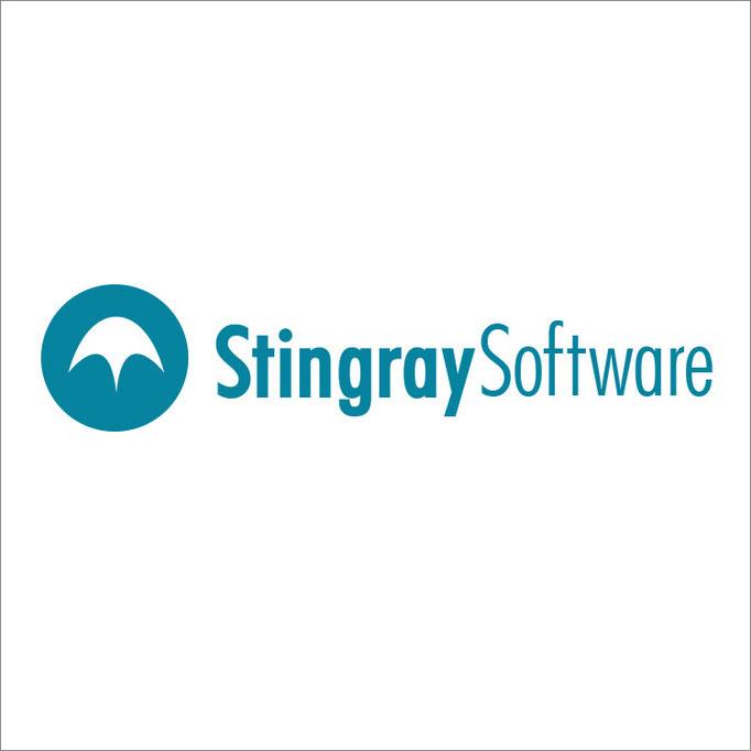 Stingray Software Logo Design