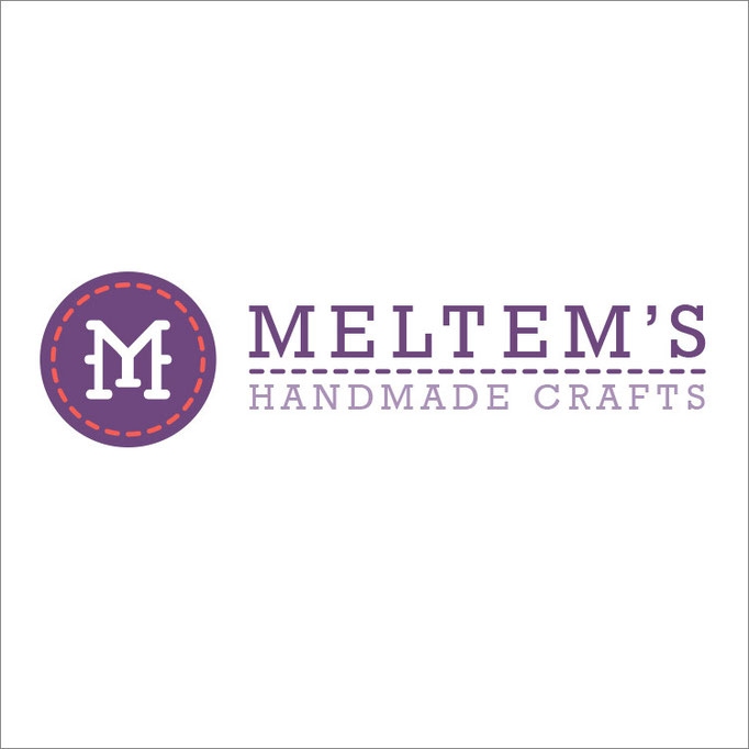 Meltem's Handmade Crafts Logo Design