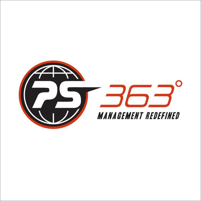 PS363 Management Redefined Logo Design