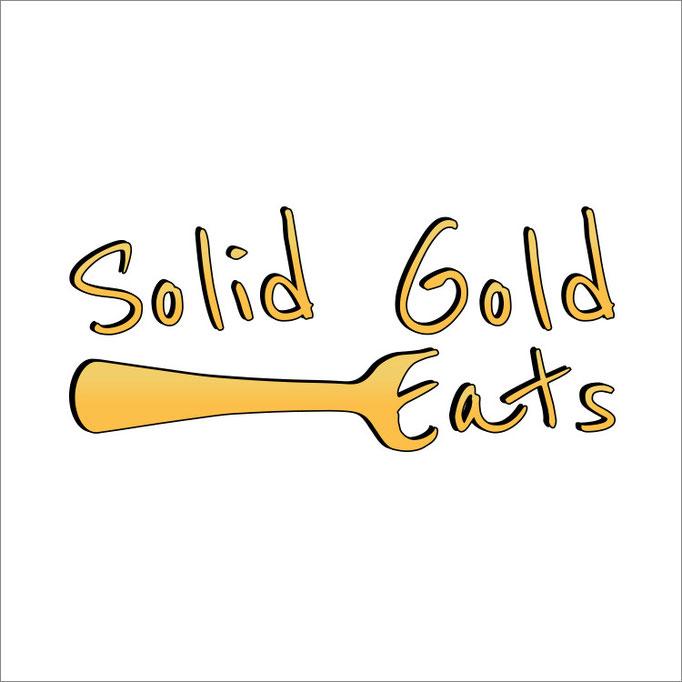 Solid Gold Eats Logo Design