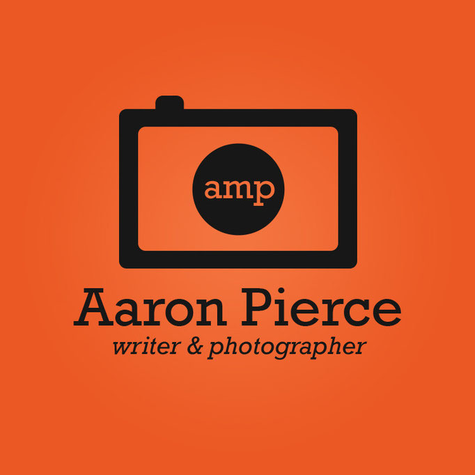 Aaron Pierce Writer & Photographer Logo Design