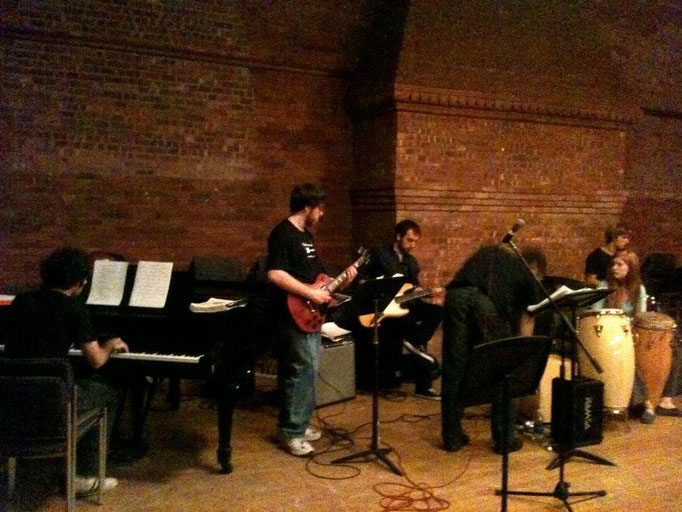 Jazz Combo, December 2011 (Aula, Vassar College)