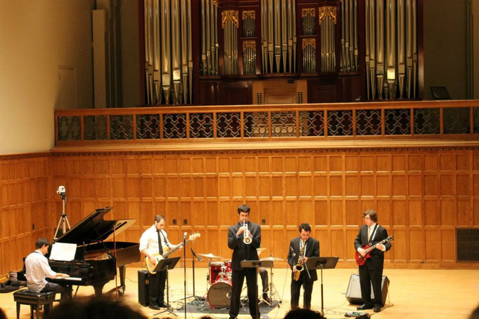 Jazz Combo, April 2012 (Martel Recital Hall, Vassar College)