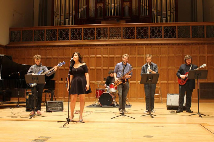 Jazz Combo, November 2013 (Martel Recital Hall, Vassar College)