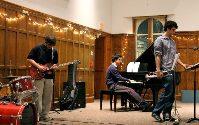 Jazz Combo, February 2012 (Villard Room, Vassar College)