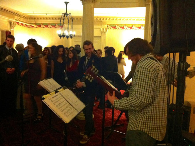 Jazz Combo, December 2012 (Rose Parlor, Vassar College)