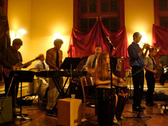 Jazz Combo, November 2011 (Jewett House, Vassar College)
