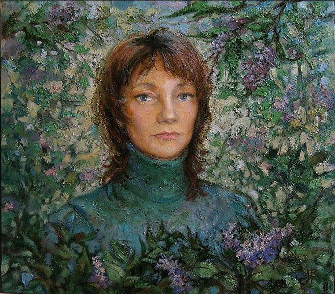 портрет_Анны ,х,м, 45х50