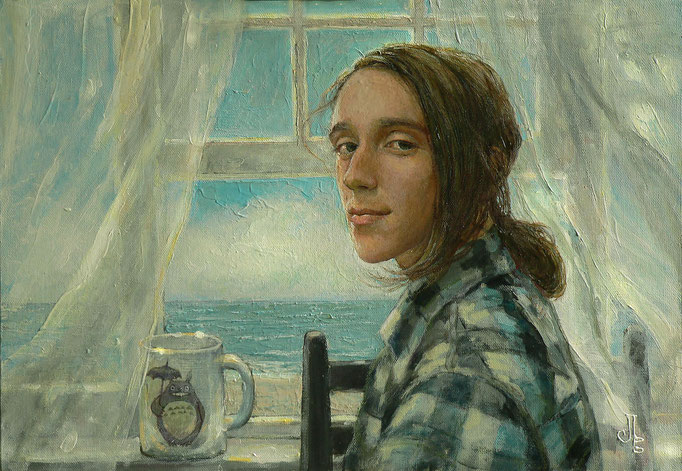 портрет Серафима 50х40 акрл.,м.,х.