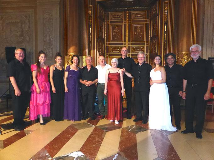 Feygele im Goldenen Saal Augsburg gemeinsam mit Sufiensemble und FAMA, Mai 2014 - Copyright (C) Feygele 2014. All rights reserved.