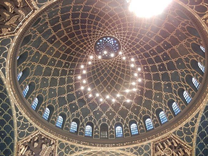 Kuppel der Augsburger Synagoge