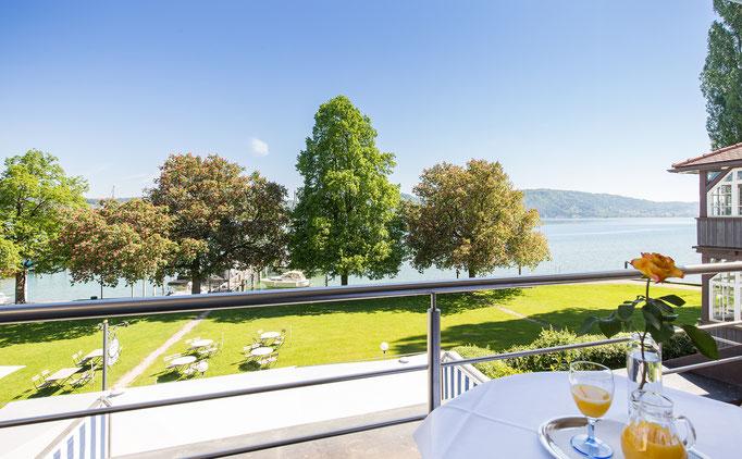 Appartement Balkon zum See