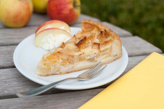 Apfelkuchen mit Quark