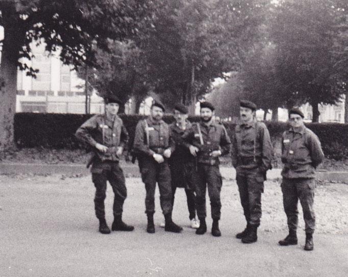La même équipe avec à droite le CNE BEAUMORD, responsable du Rallye du Rhône