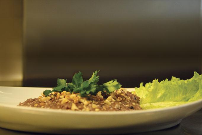 Pozzo Bianco - Birreria con cucina - Bergamo - Città Alta - Risotto con radicchio, gorgonzola e noci - Home Made