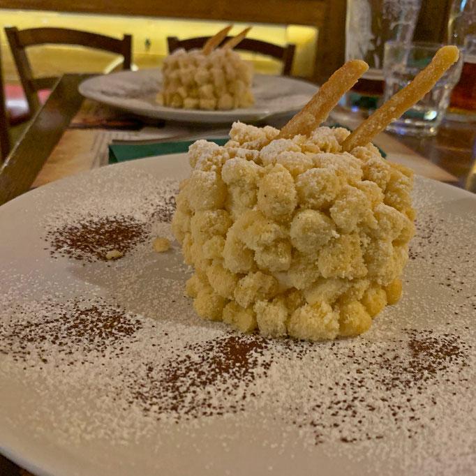 Pozzo Bianco - Birreria con cucina - Bergamo - Città Alta - Torta mimosa - Home Made