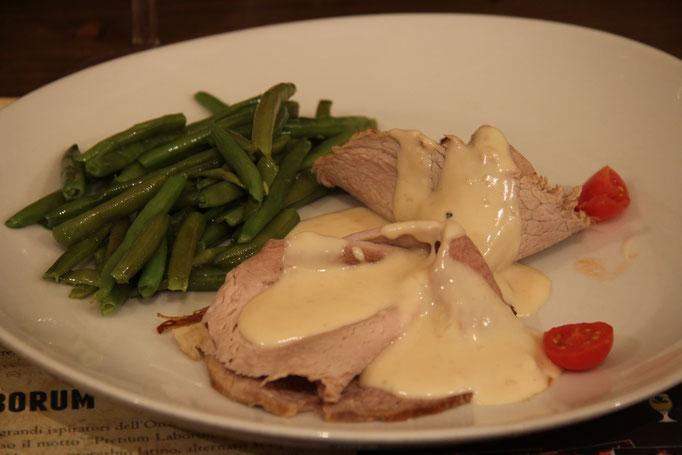 Pozzo Bianco - Birreria con cucina - Bergamo - Città Alta - Arrosto di maiale, senape al miele con patate al burro e rosmarino - Home Made
