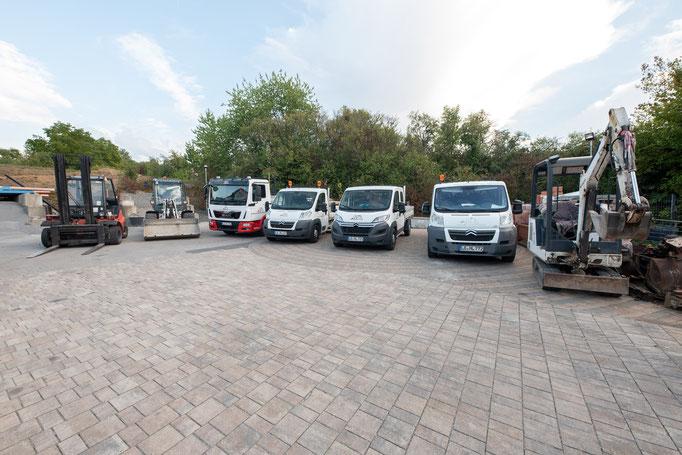 Fuhrpark Fahrzeuge
