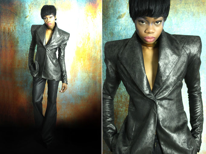 Model: Orean Kiawa | Photography/Fashion Design: Jennifer Moica