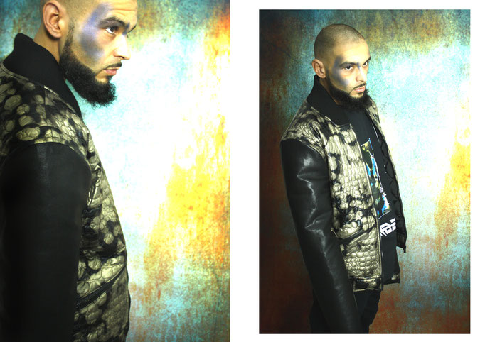 Model: Alessandro Moica | Photography/Fashion Design: Jennifer Moica