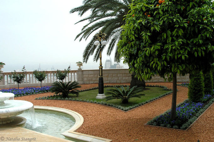 Bahai Temple Garden. Haifa.7. 04-2009