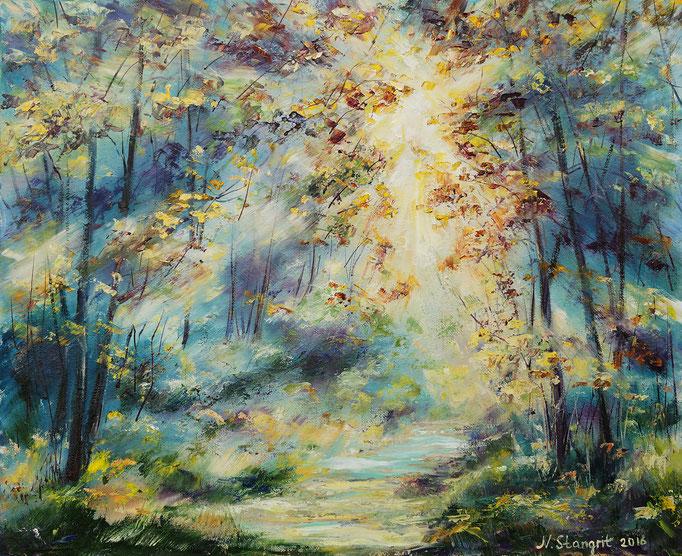 Sunshine Day  Oil on canvas panel, 40x50cm, 2016