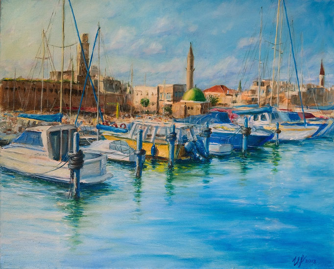 Acre. Oil on canvas, 40x50 cm, 06-2013.