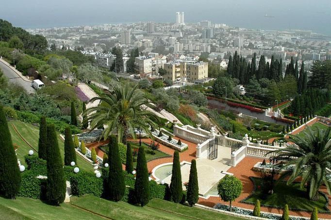 Bahai Temple Garden. Haifa.1. 04-2009
