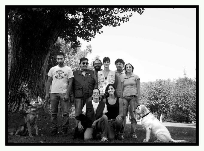 Foto di gruppo Corso Istruttori Huntering 2° step, 6-7 settembre 2014